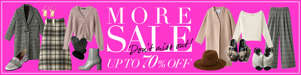 MORE SALE UP TO 70%OFF