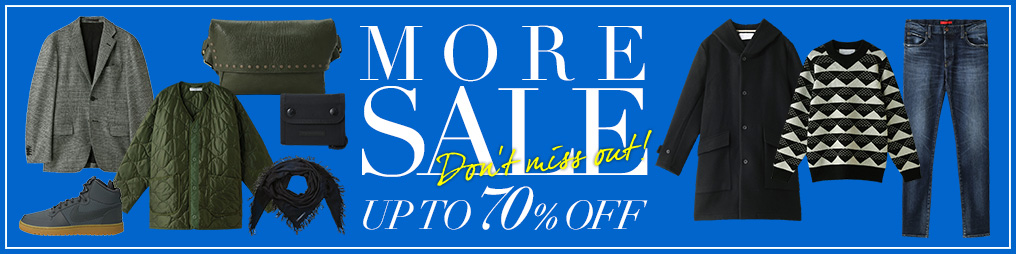 MORE SALE MEN UP TO 70%OFF