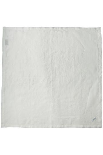 SALE 【50%OFF】 MARGARET HOWELL マーガレット・ハウエル リネンハンカチ ホワイト