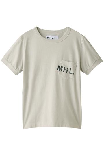 MARGARET HOWELL マーガレット・ハウエル 【MHL.】コットンカットソー ライトグレー